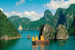 Halong Bay in 5-day tour itinerary