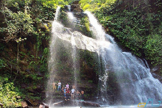 Majestic Silver Waterfalls in Sapa Tour from Hanoi