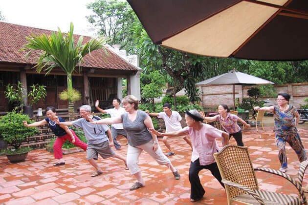 Moon Garden Homestay Hanoi Vietnam Tour