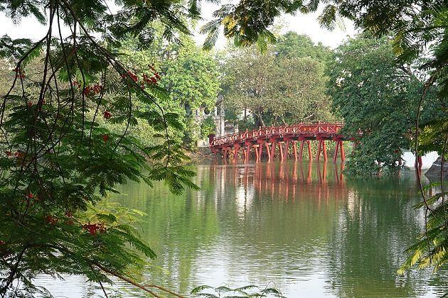Ngoc Son Temple Hoan Kiem Lake