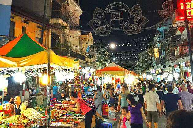 Night Market in Hanoi 5-day Tour itineraries