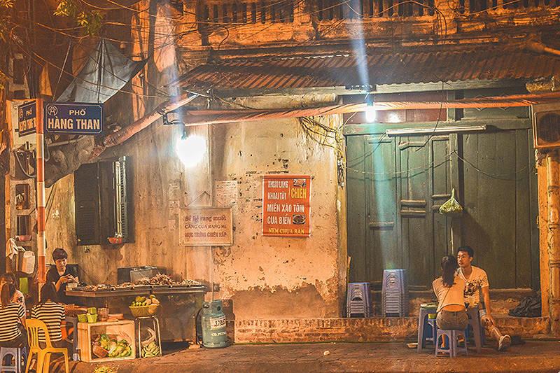 Street Food Nightlife in Hanoi