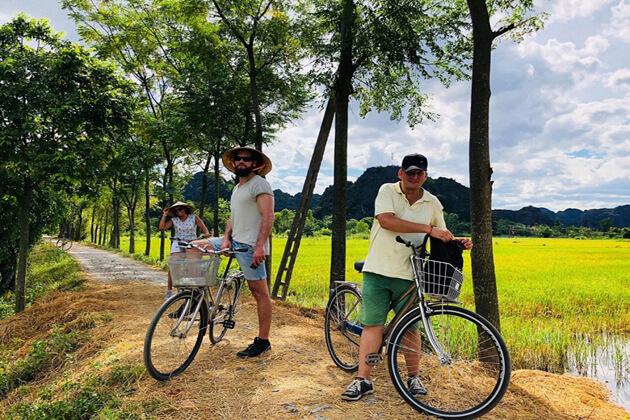 Ninh Binh Cycling Hanoi Local tour
