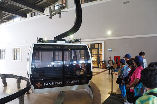 Note to have a great Fansipan Cable Car Trip