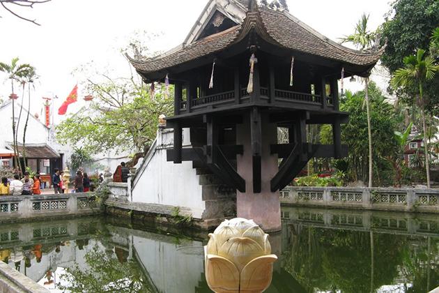 One Pillar Pagoda - Ho Chi Minh Complex