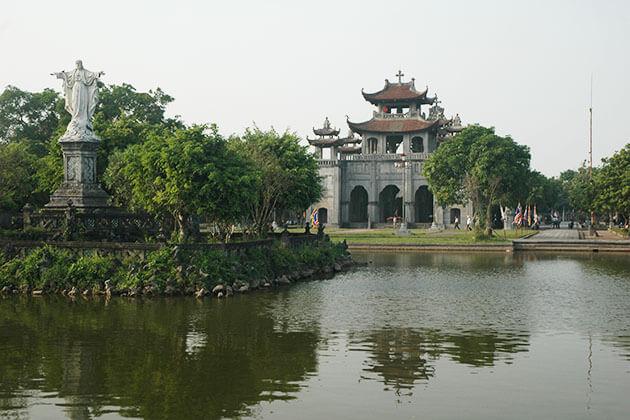 Phat Diem Stone Church in Nam Dinh