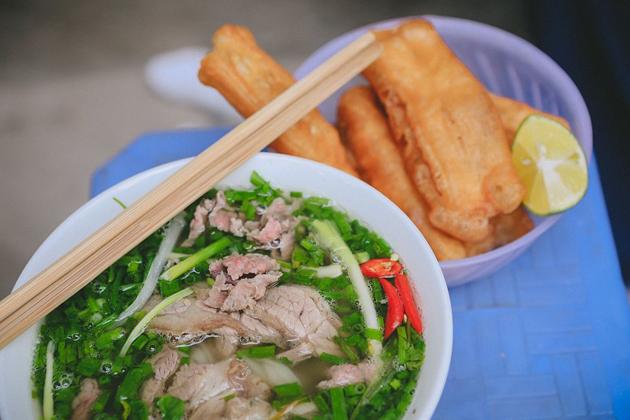 Pho Hanoi in the morning