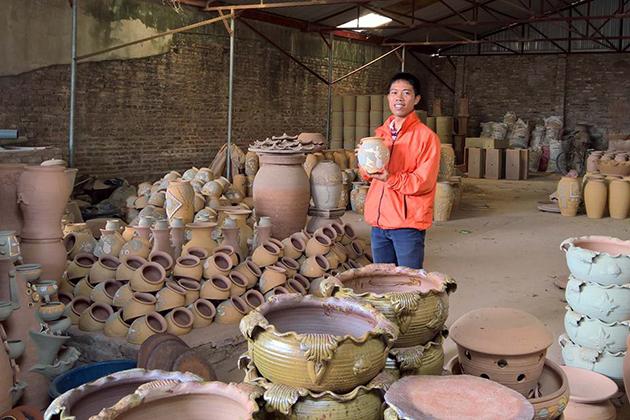 Phu Lang Pottery Village Nowadays