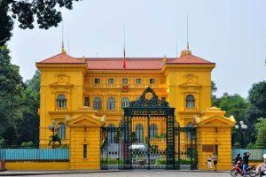 Presidential Palace Hanoi Vietnam Tour