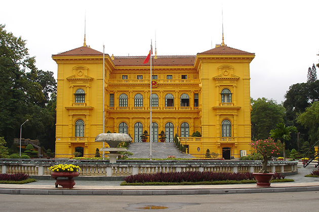 Presidential Palace - Ho Chi Minh Complex