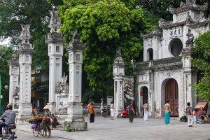 Quan Thanh Temple in Hanoi