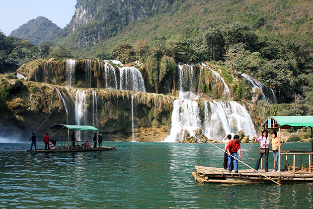 Rafting in Ban Gioc Tour
