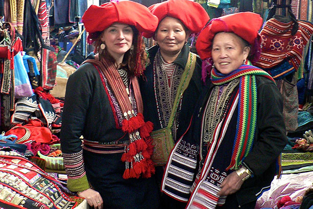 Red Dzao People Giang Ta Chai