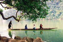 Cruising Ba Be Lake