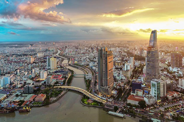 Saigon Ho Chi mInh City Vietnam tour