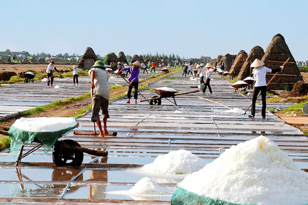 Salt Village in Giao Thuy