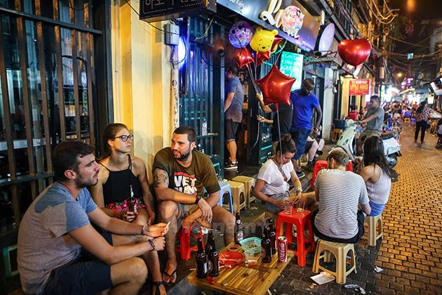 Ta Hien Beer Street Hanoi