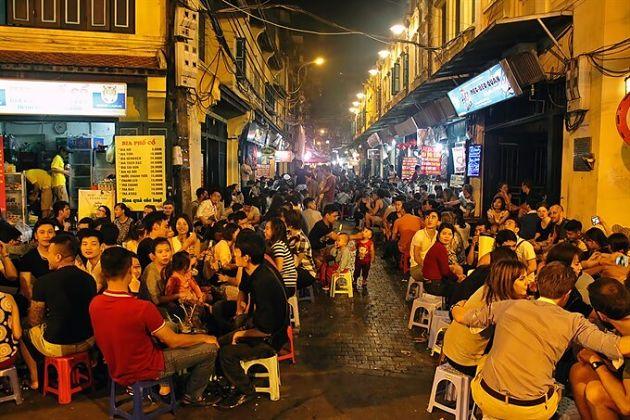 Ta Hien Street Beer Street in Hanoi