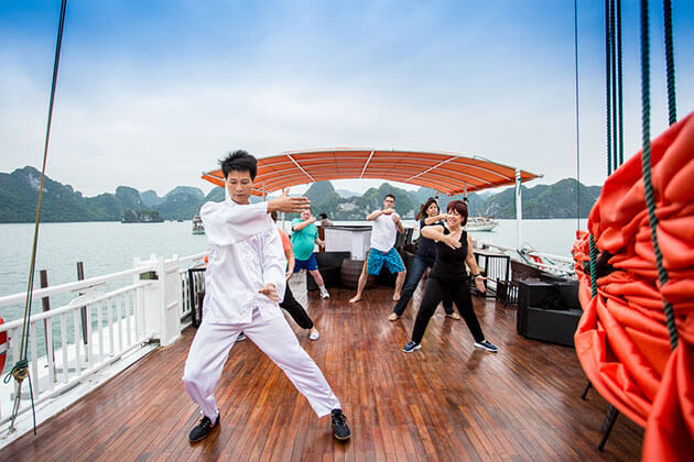 TaiChi Exercise on Cruise