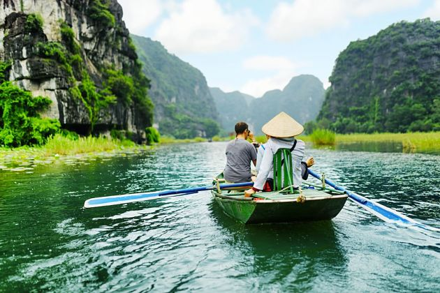 Tam Coc Halong Tour from Hanoi