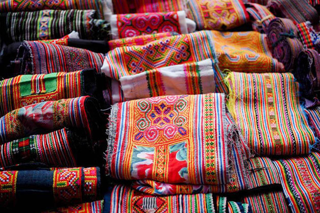 Textile Gift in North Vietnam