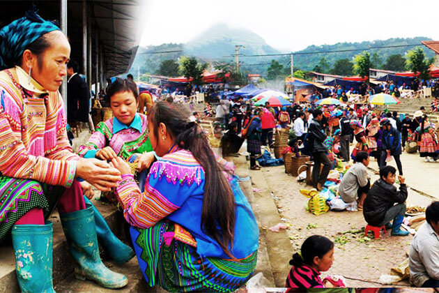 The Local Market in Sapa Day Trips