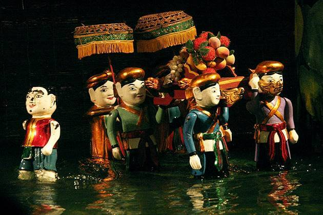 Traditional Water Puppet Show in Hanoi