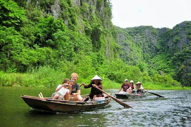 Trang An Boat Trip in Vietnam
