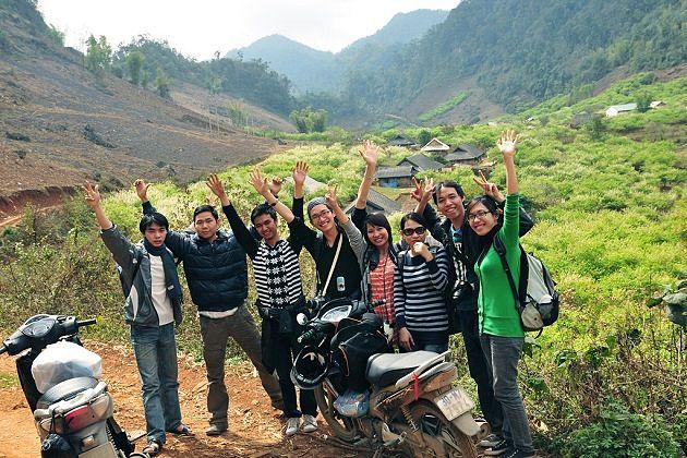Ha Giang by rent Motorbike