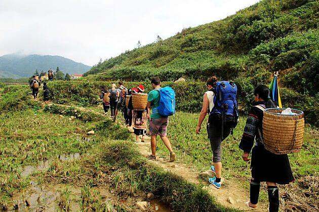 Trekking Y Linh Ho Village
