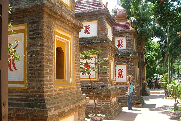 Unique Architecture of Tran Quoc Pagoda in Hanoi
