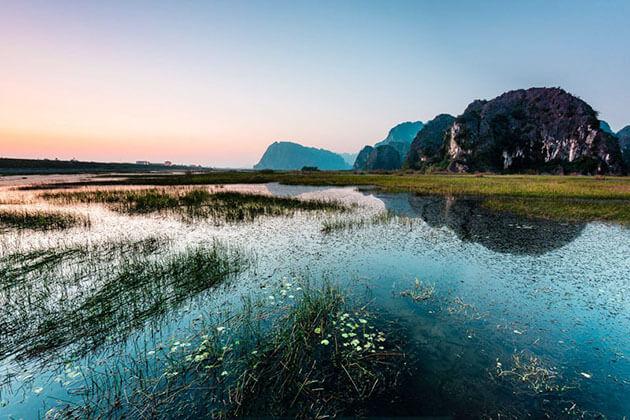 Van Long Nature Reserve in Ninh Binh