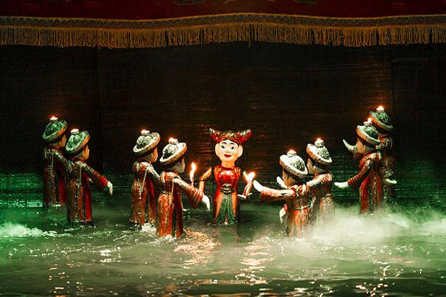 Water Puppet Show Hanoi Tour