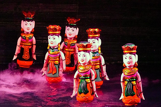 Water Puppet Show in Hanoi 5-day Tour itineraries