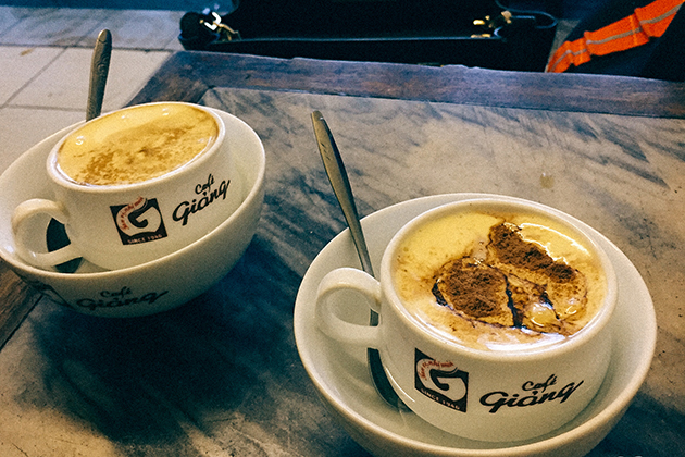 Where to Get Egg Coffee in Hanoi