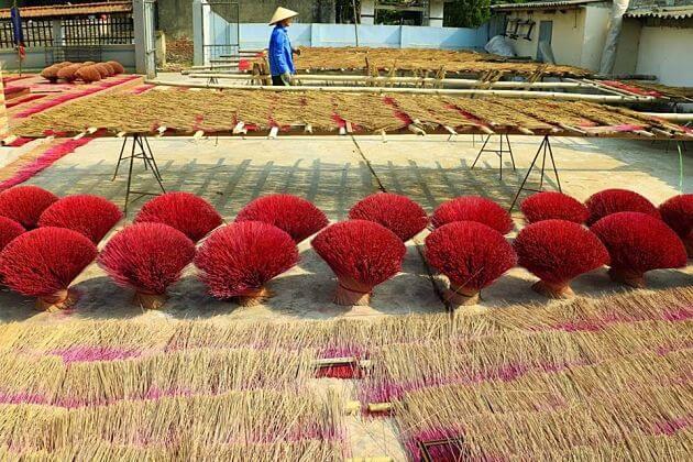 Yen Phu Traditional Incense Village