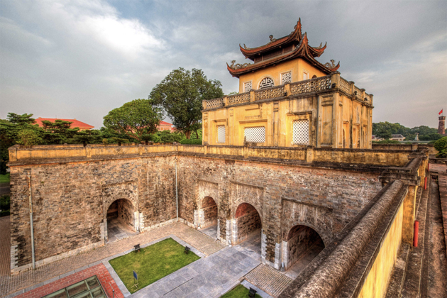 architecture of thang long imperial city