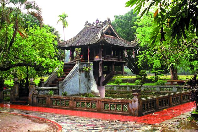 explore one pillar pagoda in hanoi tour packages