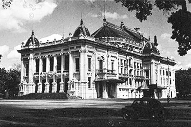 history of hanoi opera house