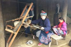 Indigo Weaving in Mai Chau day trips out of hanoi