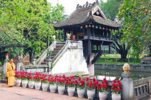 one-pillar pagoda hanoi local tour