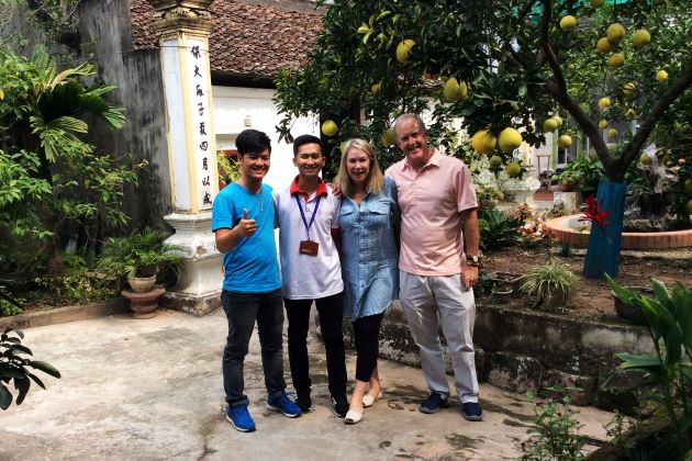 reviews of David and Drina Jones about day tours hanoi