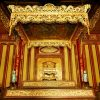 see the royal throne of the Nguyen emperors in day trip from hanoi