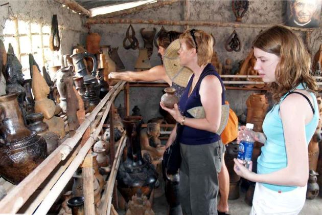 visit bat trang ceramic village in hanoi day tours