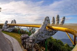 visit golden bridge in danang day tours from hanoi